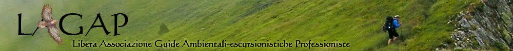LAGAP - Libera Associazione Guide Ambientali-escursionistiche Professioniste CF: 94158950546 - CP 32 - 06083 Bastia Umbra (PG)